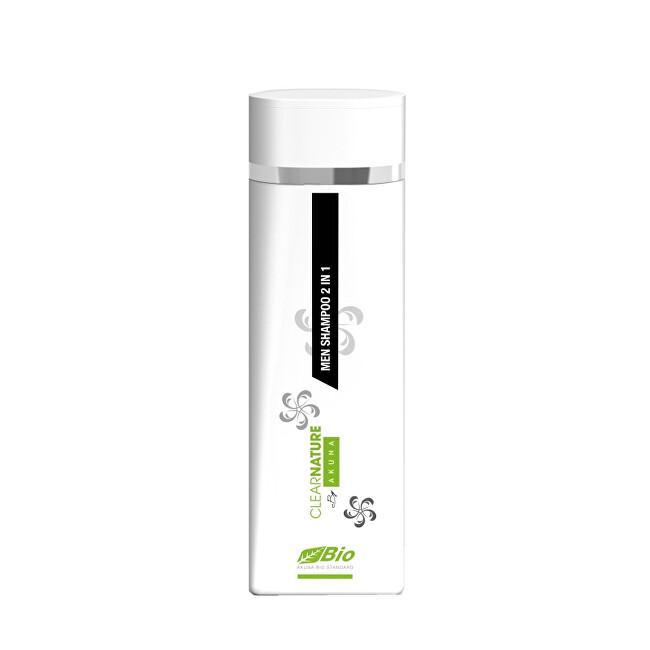 Akuna BIO Pánský vlasový a tělový šampon 200 ml