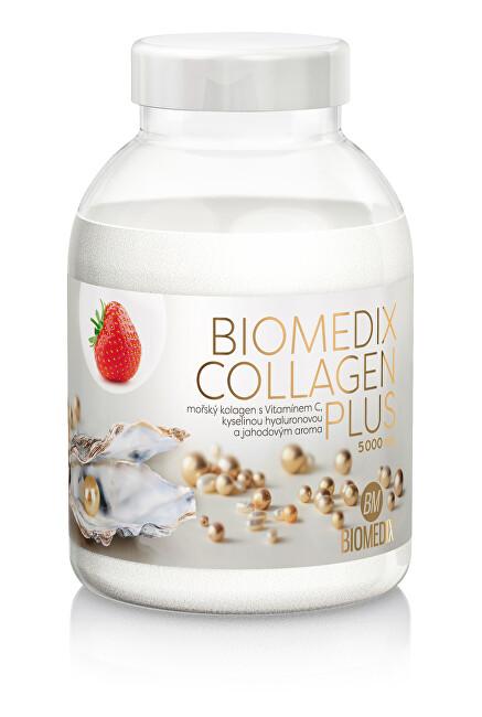 Zobrazit detail výrobku Biomedix Biomedix Collagen Plus 400 g - jahoda
