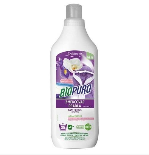 Zobrazit detail výrobku Biopuro BIOPURO organická aviváž a změkčovač prádla (35 praní) 1 l