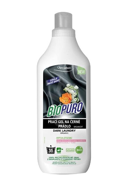 Zobrazit detail výrobku Biopuro Organický tekutý prací gel na černé prádlo (35 praní) 1 l