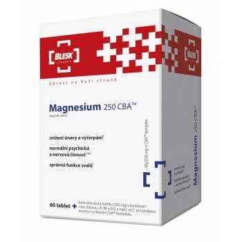 Zobrazit detail výrobku Simply You BLESK Magnesium 250 CBA 60 tobolek