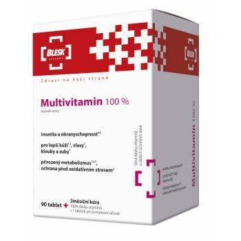 Zobrazit detail výrobku Simply You Pharmaceuticals BLESK Multivitamin 100 % 90 tablet