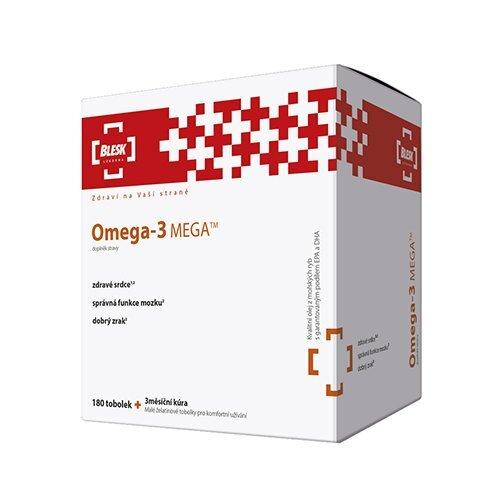 Zobrazit detail výrobku Simply You BLESK Omega - 3 MEGA 180 tobolek