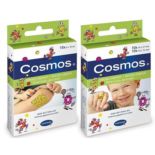Hartmann Cosmos dětská náplast 2 velikosti 20 kusů