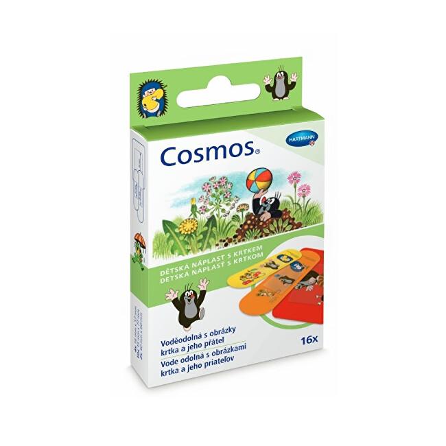 Zobrazit detail výrobku Cosmos Cosmos dětská náplast s krtkem 16 ks