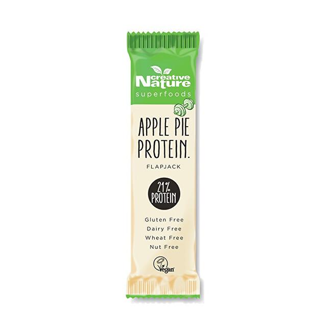 Creative Nature Creative Nature Protein Flapjack jablečný koláč 40 g