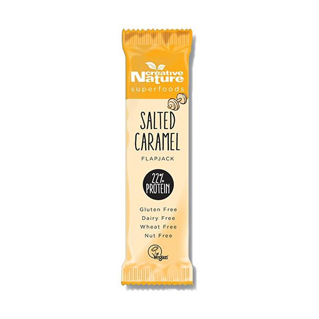 Creative Nature Creative Nature Protein Flapjack slaný karamel 40 g