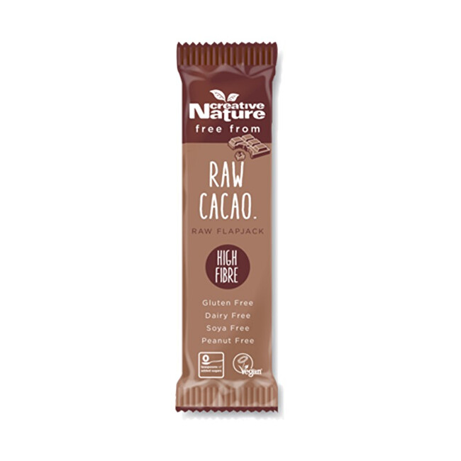Zobrazit detail výrobku Creative Nature Creative Nature Raw Flapjack s kakaem 38 g
