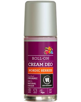 Zobrazit detail výrobku Urtekram Deodorant roll on krémový Nordic Berries BIO 50ml