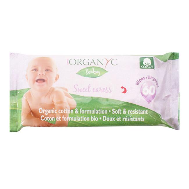 Zobrazit detail výrobku Organyc Dětské čisticí ubrousky BIO bavlna 60 ks