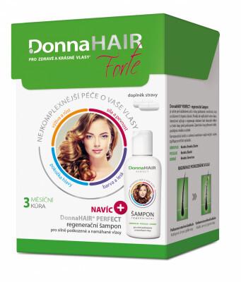 Zobrazit detail výrobku Donna Hair Forte 3 měsíční kúra 90 kapslí