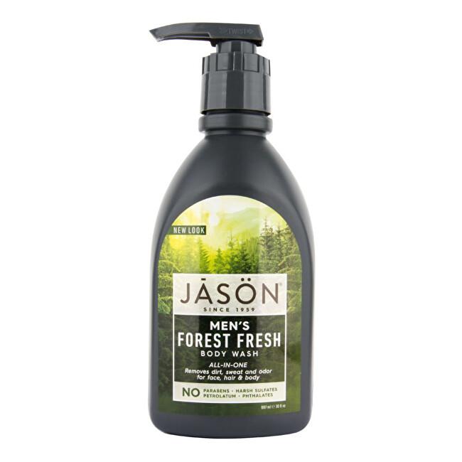 Zobrazit detail výrobku JASON Gel sprchový pro muže Forest fresh 887 ml