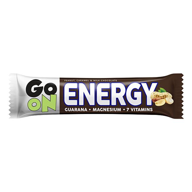 Vieste GO ON Energetická tyčinka oříšek karamel 50 g