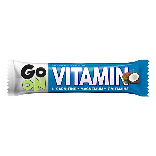 Vieste GO ON Vitaminová tyčinka kokos l-carnitin 50 g