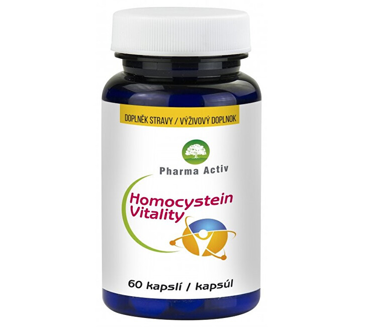 Zobrazit detail výrobku Pharma Activ Homocystein Vitality 60 kapslí