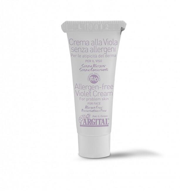 Argital Hypoalergenní krém na obličej s violkou 10 ml