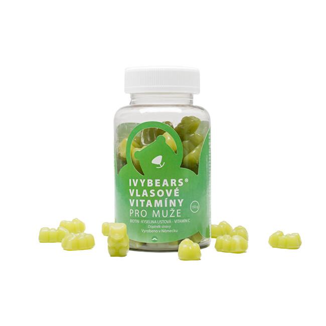 Zobrazit detail výrobku IVY Bears IVY Bears vlasové vitamíny pro muže 60 kusů