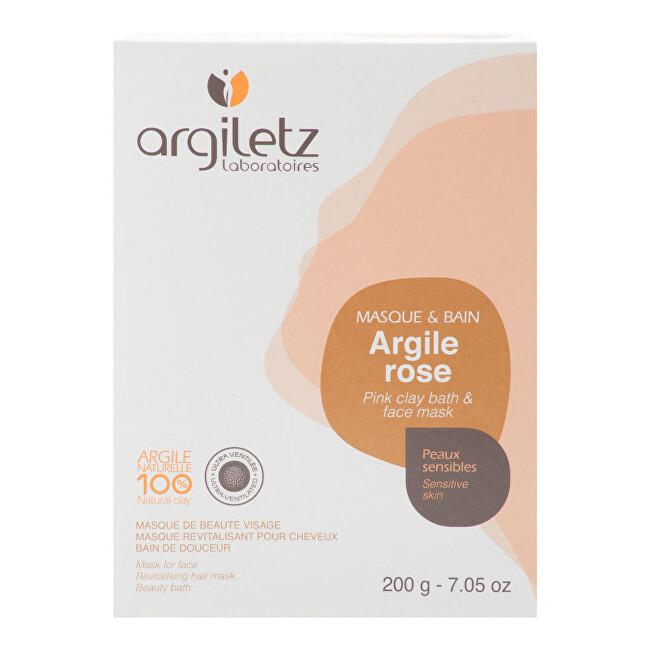 Zobrazit detail výrobku Argiletz Jíl růžový ultra ventilovaný maska & koupel 200 g