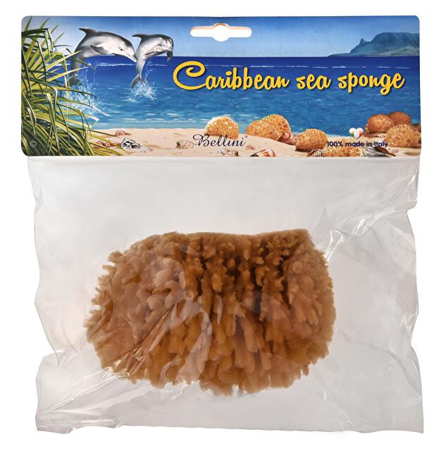 BELLINI Karibská přírodní mořská houba – MINERÁLNÍ 13 - 14 cm