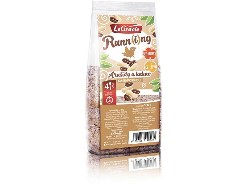 LeGracie Kaše Run-ní ptáče - arašídy a kakao 180g