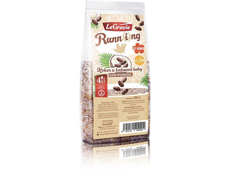 LeGracie Kaše Run-ní ptáče - kokos a kakaové boby 180g