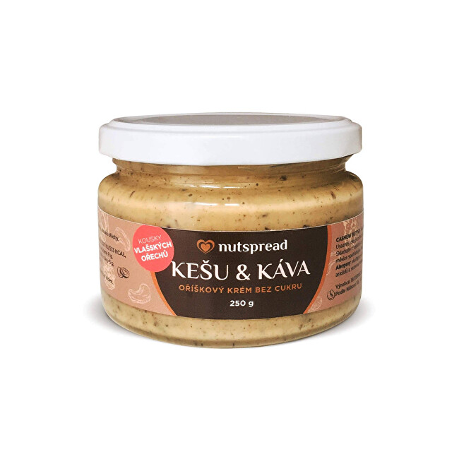 Zobrazit detail výrobku Nutspread Kešu máslo s kávou Nutspread 250 g