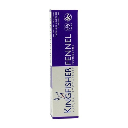 Kingfisher Kingfisher zubná pasta - Aloe, Tea tree a fenikel 100 ml