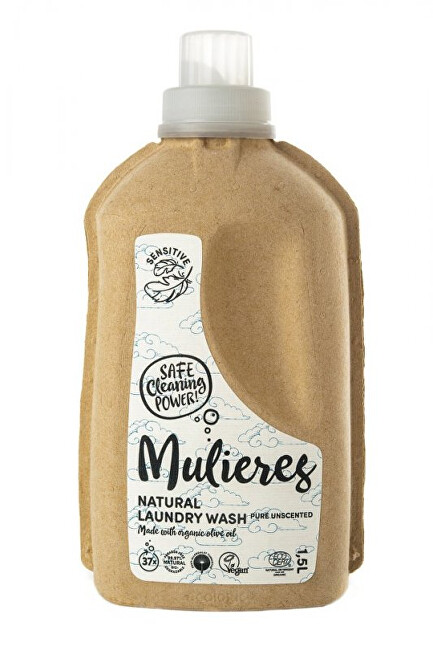 Mulieres Koncentrovaný prací gel 1,5 l - bez vůně