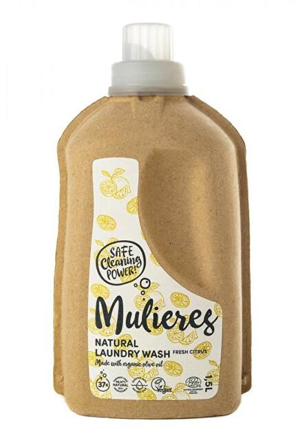 Zobrazit detail výrobku Mulieres Koncentrovaný prací gel 1,5 l - svěží citrus