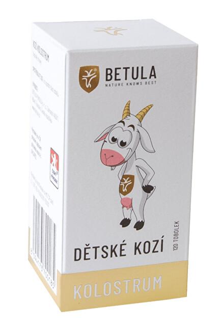 Zobrazit detail výrobku Betula pendula Kozí kolostrum dětské (balení 120 tobolek)