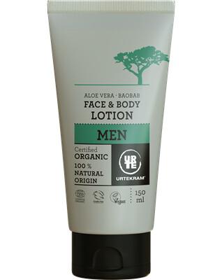 Urtekram Krém na tělo i obličej MEN BIO 150ml