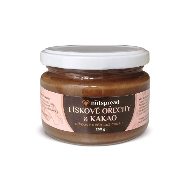 Zobrazit detail výrobku Nutspread Lískooříškový krém s kakaem 250 g