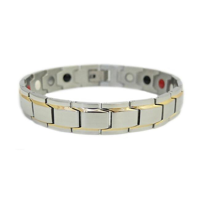 Euro Trade Plus Magnetický náramek multifunkční BNS - nerezová ocel 316L (21,5 cm)