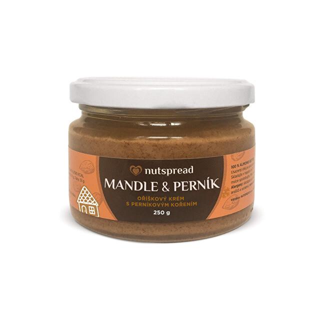 Zobrazit detail výrobku Nutspread Mandlové máslo s perníkem Nutspread 250 g
