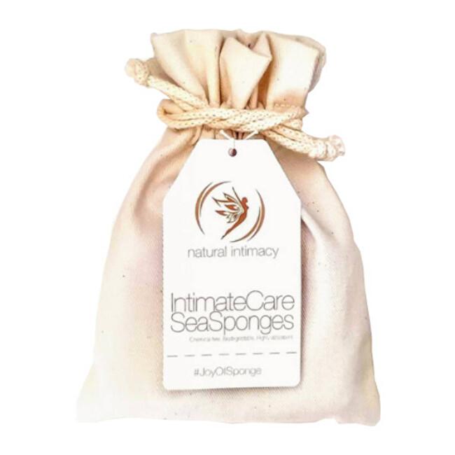 Zobrazit detail výrobku Natural Intimacy Menstruační houby 2 L minerání v bavlněném pytlíčku 2 ks
