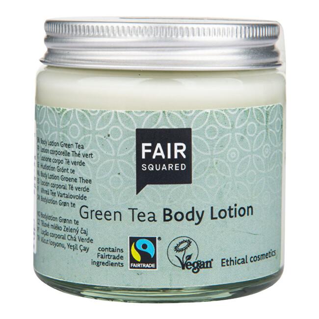 FAIR SQUARED Mléko tělové zelený čaj 100 ml ZWP - SLEVA - poškozená etiketa