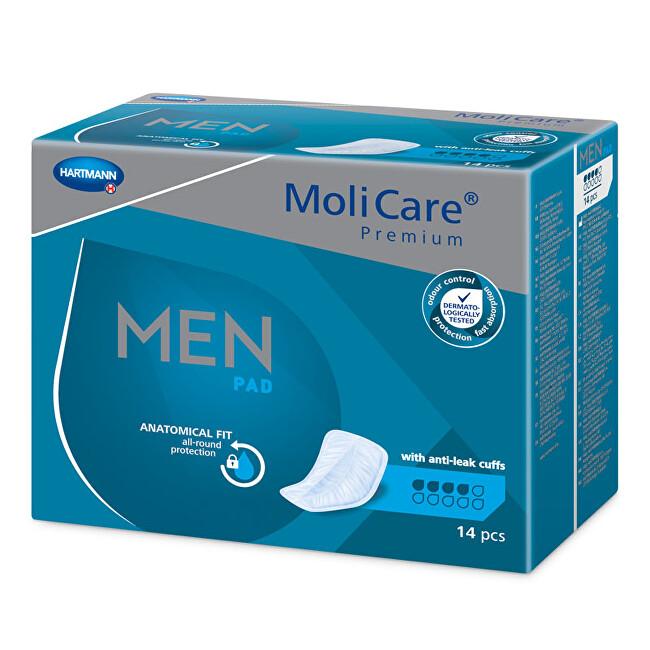 Zobrazit detail výrobku MoliCare MoliCare® Men 4kapky savost 546 ml 14 ks