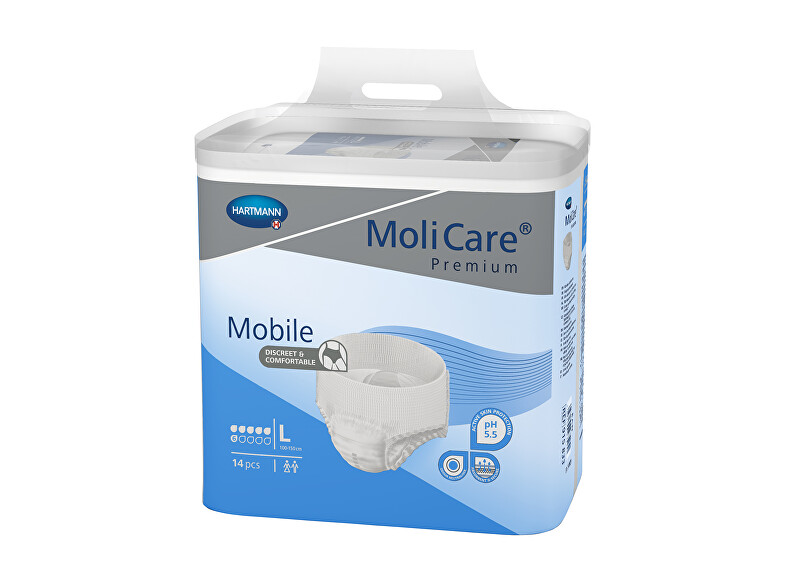 MoliCare MoliCare® Mobile 6 kapek vel. L savost 1963 ml 14 ks