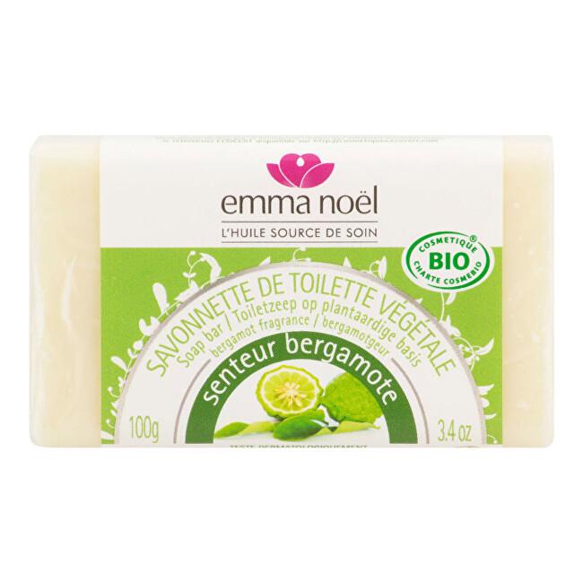 Zobrazit detail výrobku Emma Noël Mýdlo rostlinné bergamot 100 g BIO