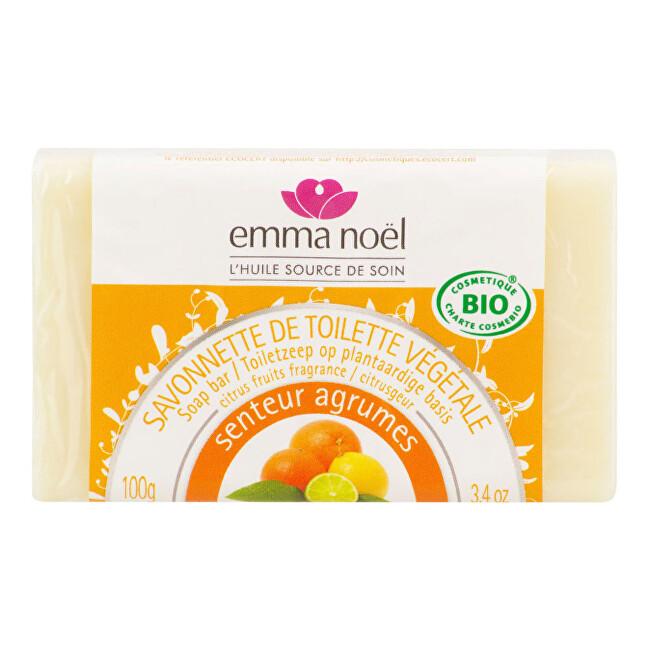 Zobrazit detail výrobku Emma Noël Mýdlo rostlinné citrus 100 g BIO