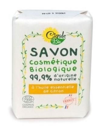 Zobrazit detail výrobku Cigale BIO Mýdlo s citronovým esenciálním olejem 100 g