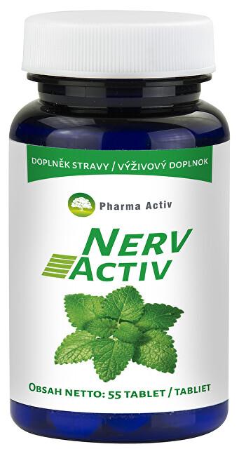 Zobrazit detail výrobku Pharma Activ Nerv Activ 55 kapslí