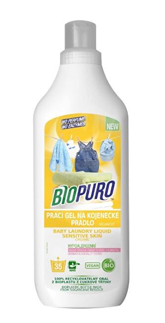 Zobrazit detail výrobku Biopuro Organický tekutý prací gel pro citlivou pokožku a miminka (35 praní) 1 l