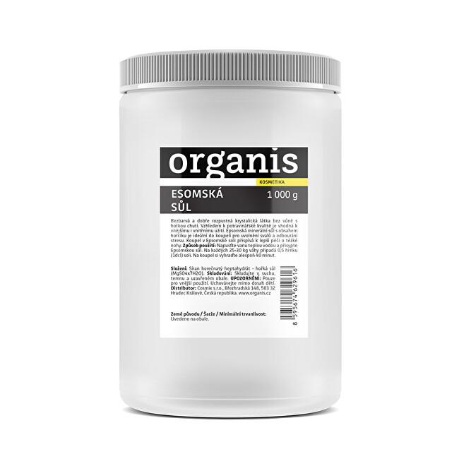 Organis Organis Epsomská sůl 1000 g