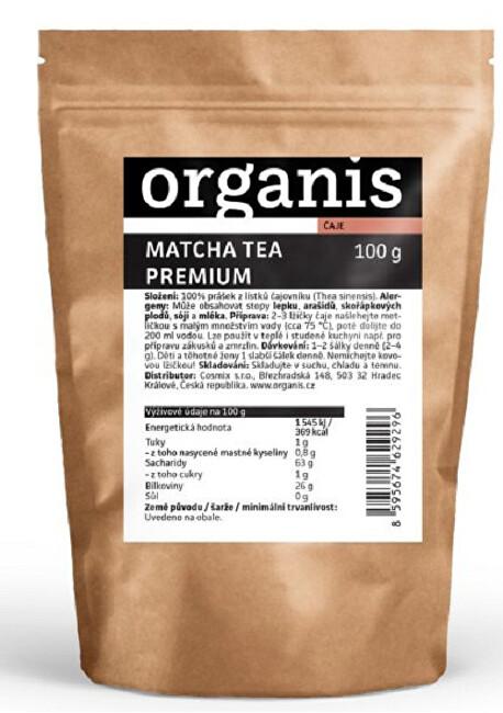 Zobrazit detail výrobku Organis Organis Matcha tea 100 g