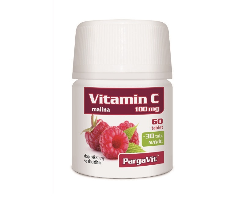 Zobrazit detail výrobku Simply You PargaVit Vitamin C malina 90 tablet