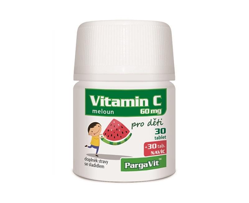 Zobrazit detail výrobku Simply You PargaVit Vitamin C meloun pro děti 60 tablet