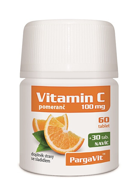 Zobrazit detail výrobku Simply You PargaVit Vitamin C pomeranč 90 tablet