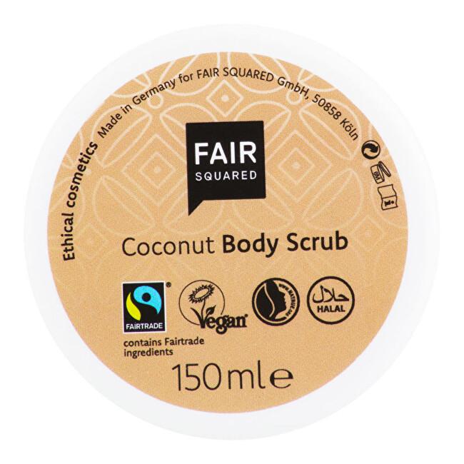 Zobrazit detail výrobku FAIR SQUARED Peeling tělový kokosové vločky 150 g