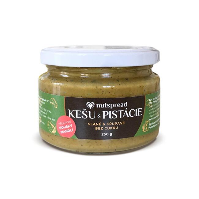 Zobrazit detail výrobku Nutspread Pistáciové máslo s kešu, mandlemi a solí Nutspread 250 g